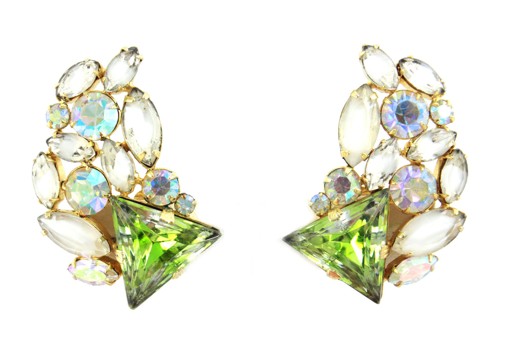 Hobe Milky Cluster Earrings