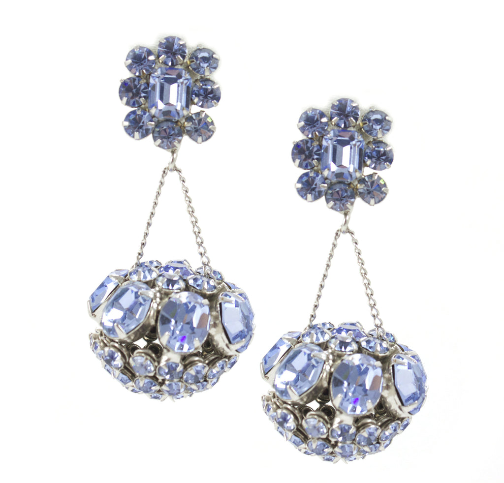 Mimi di N Blue Pendant Earrings