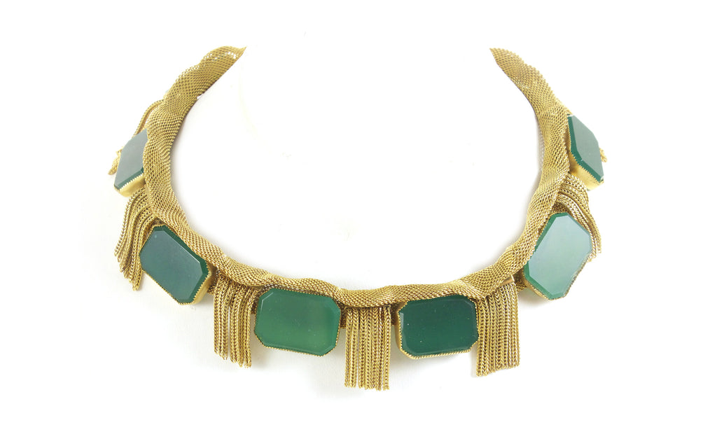 Hattie Carnegie Fringe Necklace