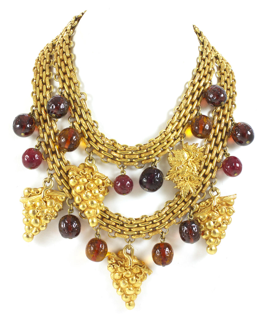 Dominique Aurientis, Paris, Grape Necklace