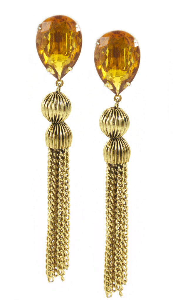 Alice Caviness Tassel Earrings