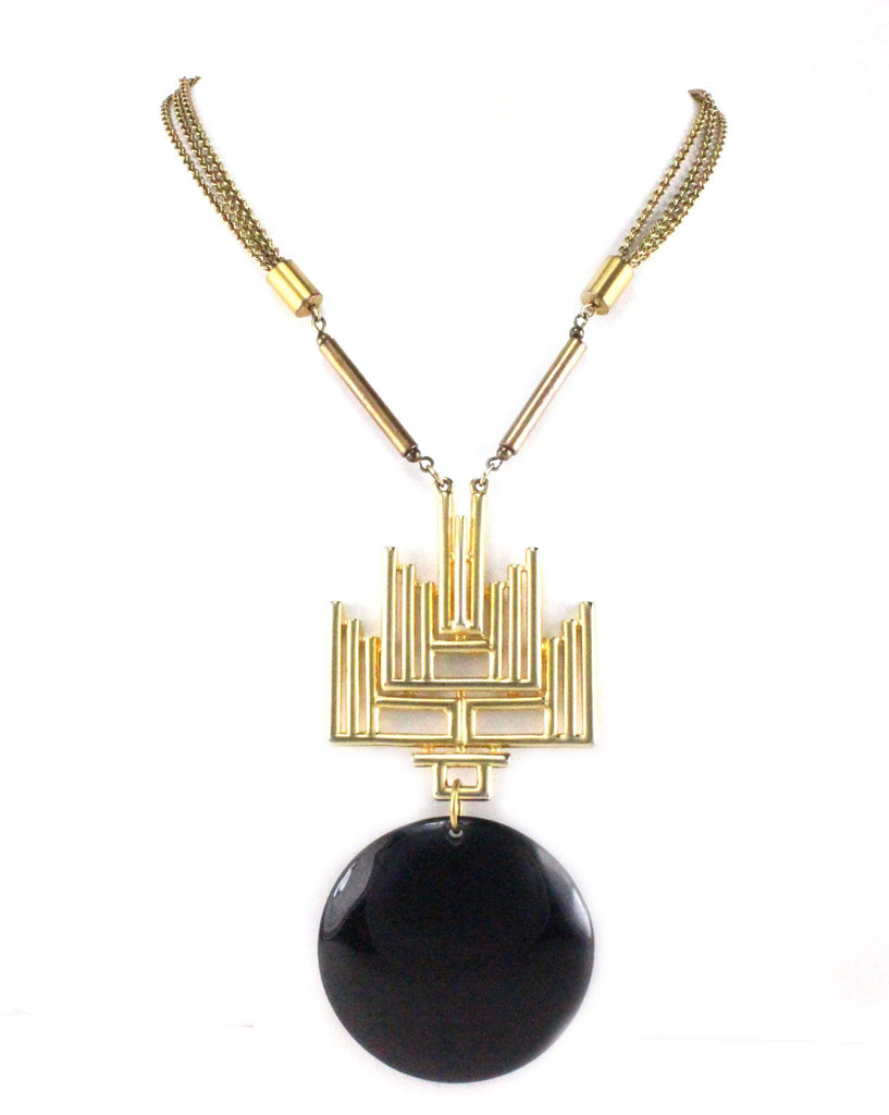 1970'S CASTLECLIFF PENDANT NECKLACE