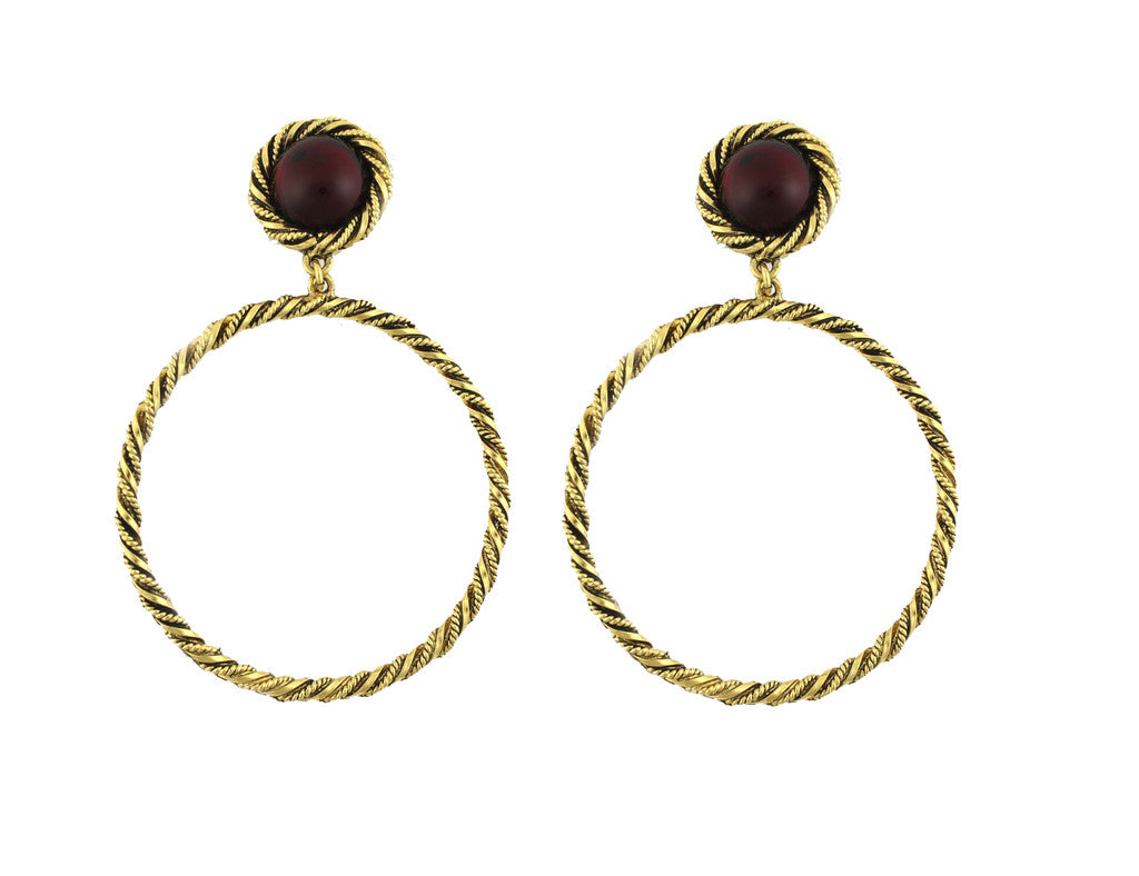 KARRY O' RED EARRINGS