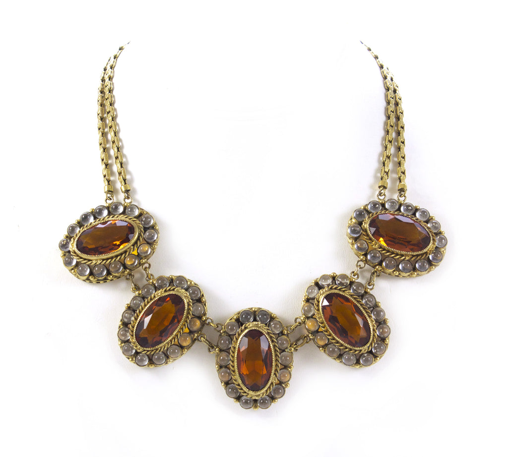 1950S ROBERT AMBER NECKLACE