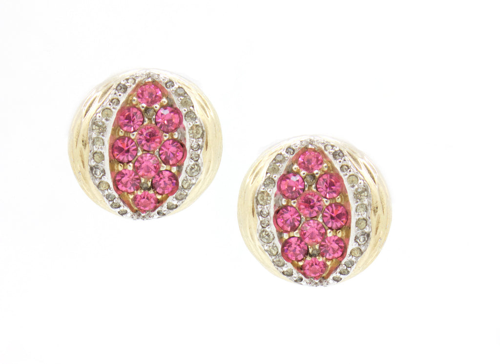 1960's Jomaz pomegranate earrings