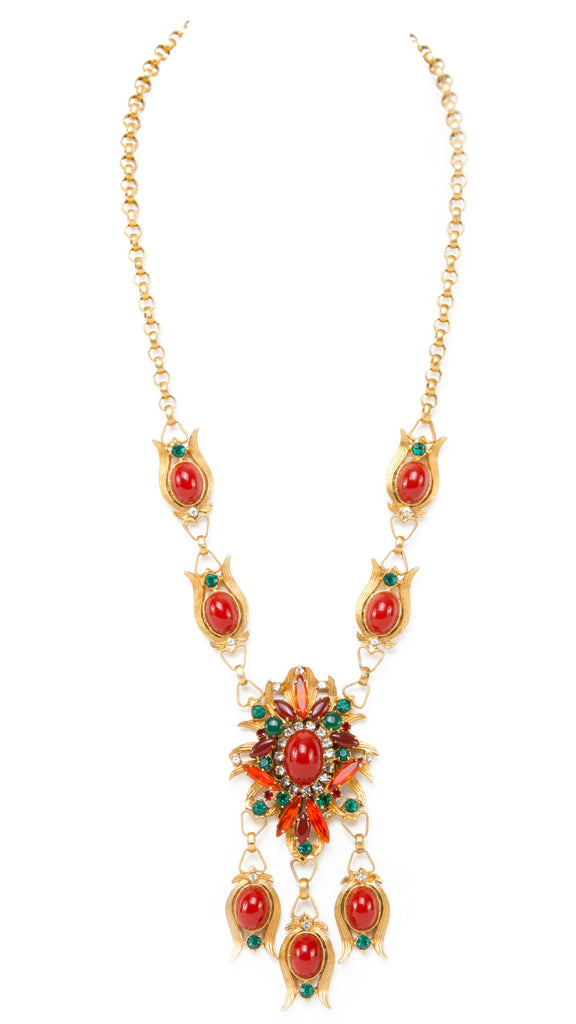 Alice Caviness Coral Necklace