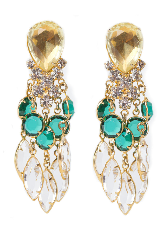 KJL Citrine Earrings