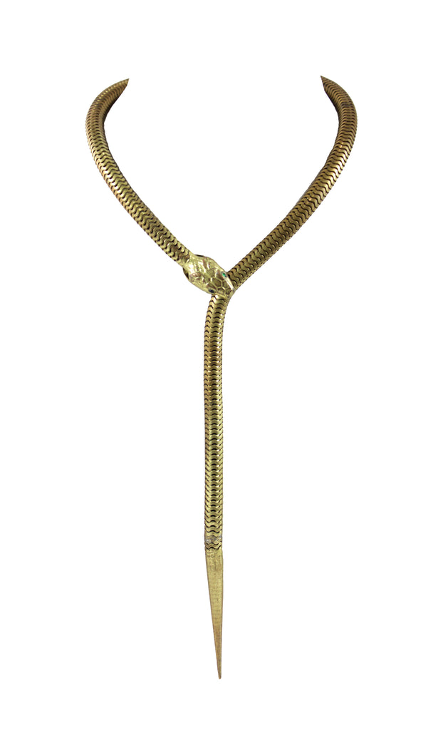 Victorian Snake Chain Necklace
