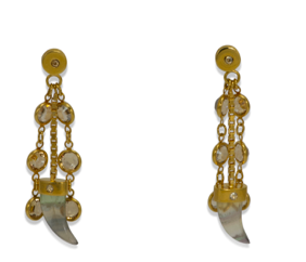 the crusoe collection <br/> crusoe charm earrings
