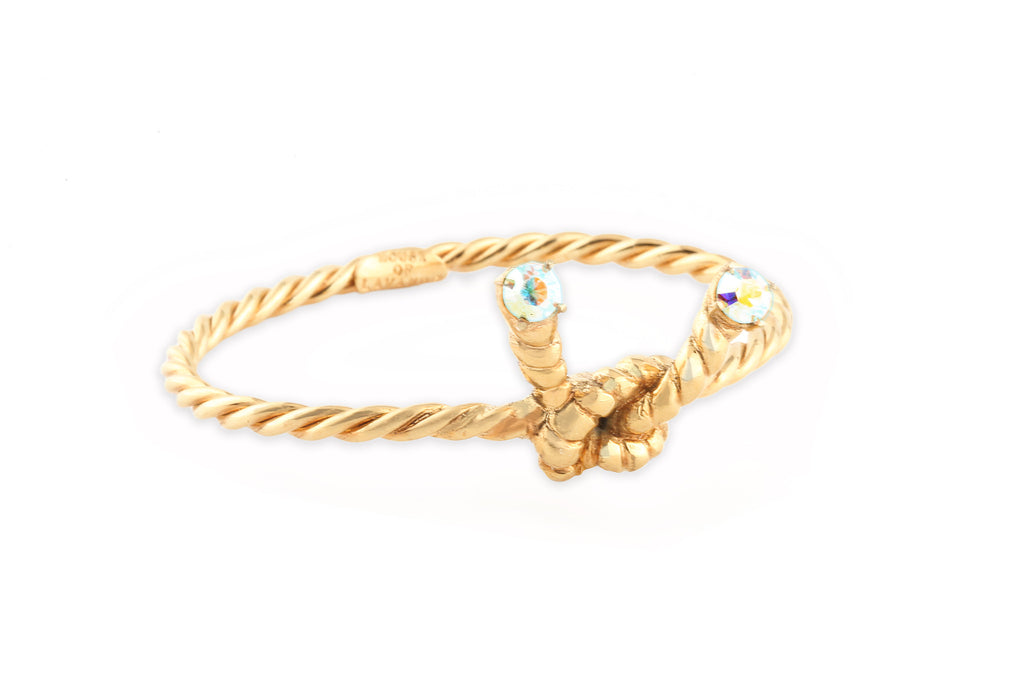The Northern Lights Collection <br/> Golden Knot Bracelet