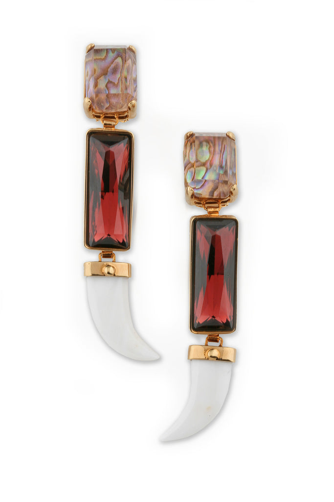 The Northern Lights Collection <br/> Aurora Long Earrings