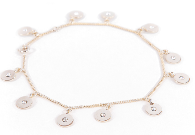 Greek Isles Hydra Disc Anklet