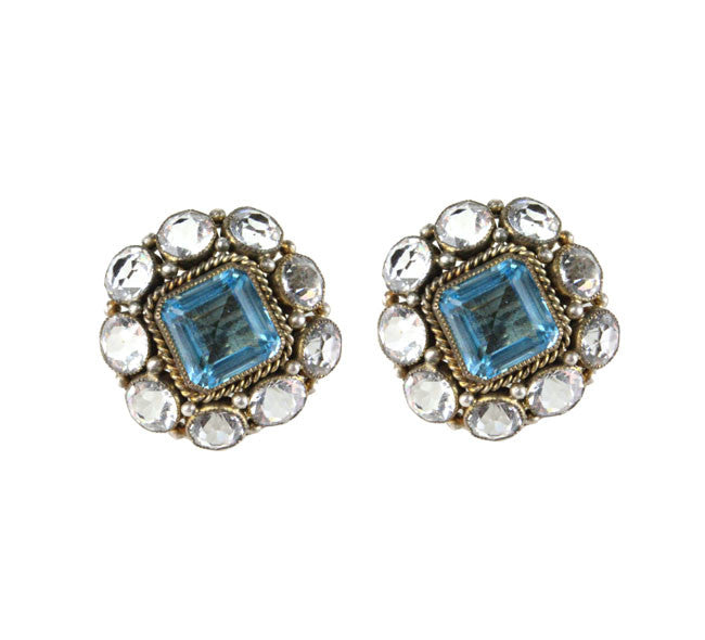 HOBE BLUE EARRINGS