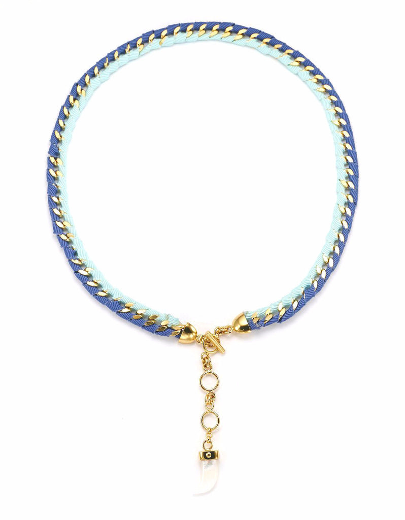 The Bali Girl Collection <br/> Indah Blue Necklace