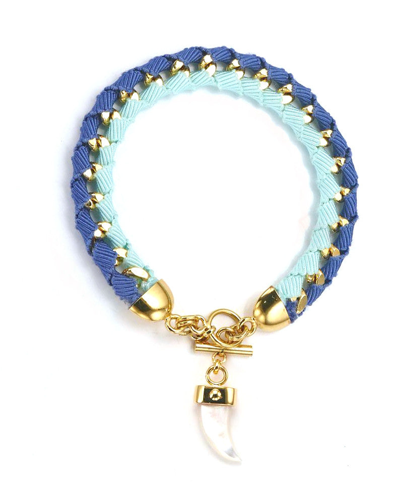 The Bali Girl Collection <br/> Indah Blue Bracelet