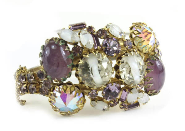 1950'S HOBE PURPLE BRACELET