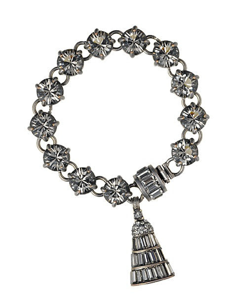 THE ANNÉES FOLLES COLLECTION  <br/> JOSEPHINE CHARM BRACELET
