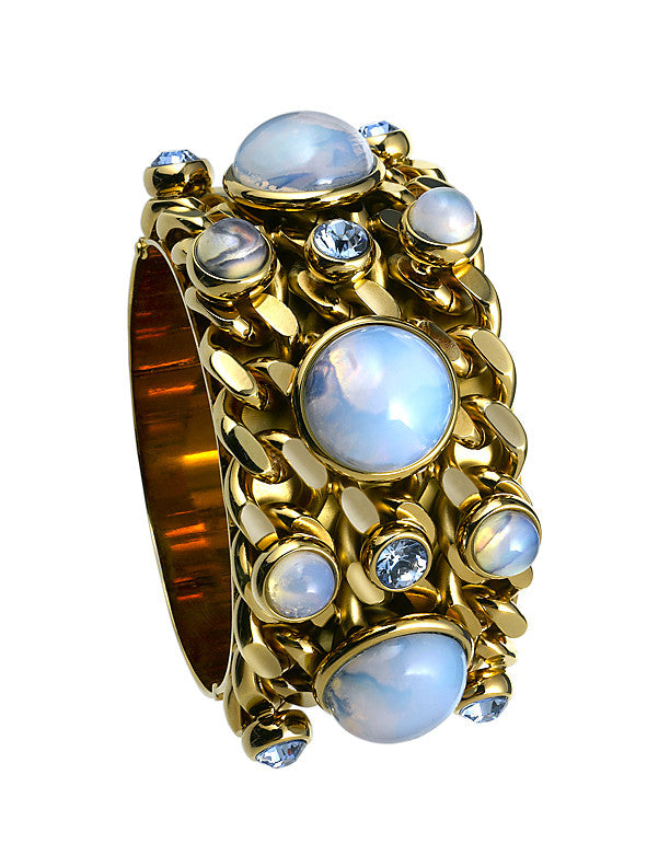 THE ORIENT EXPRESS COLLECTION<br/>PEARL OF SIBERIA CHAIN CUFF