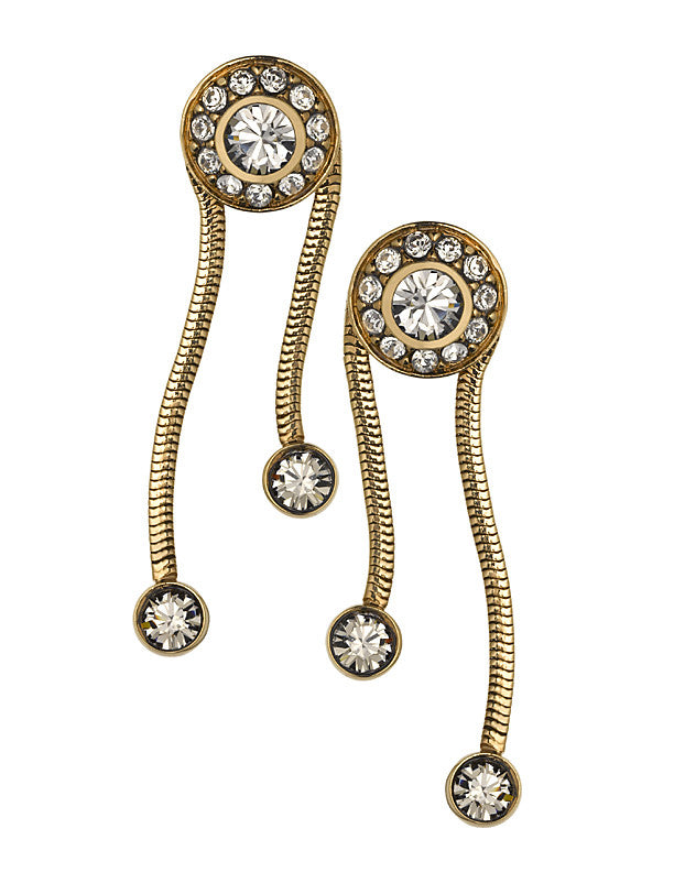 THE ORIENT EXPRESS COLLECTION<br/>SERPENT EARRINGS