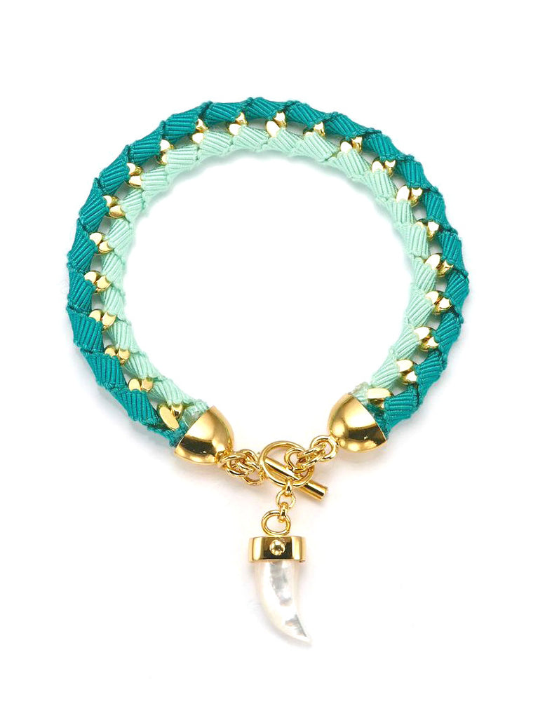 The Bali Girl Collection <br/> Indah Green Bracelet