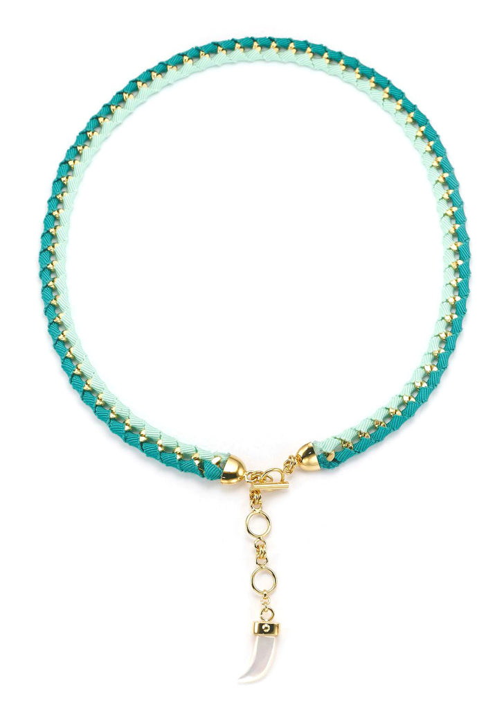 The Bali Girl Collection <br/> Indah Green Necklace