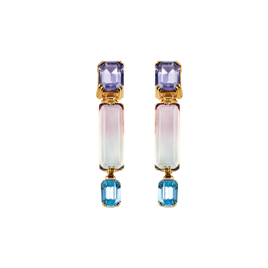 PARADISE COLLECTION <br/> OCEANA SINGLE EARRINGS