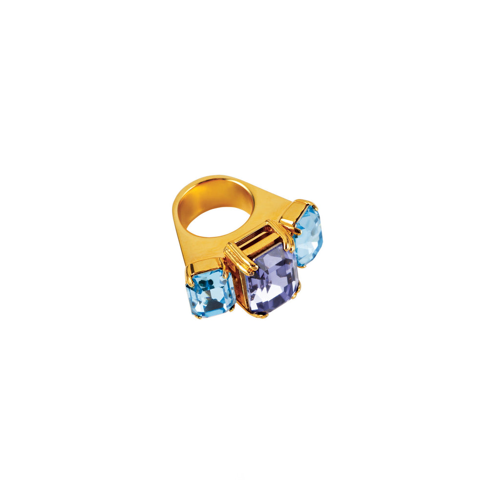 PARADISE COLLECTION <br/> OCEANA COCKTAIL RING