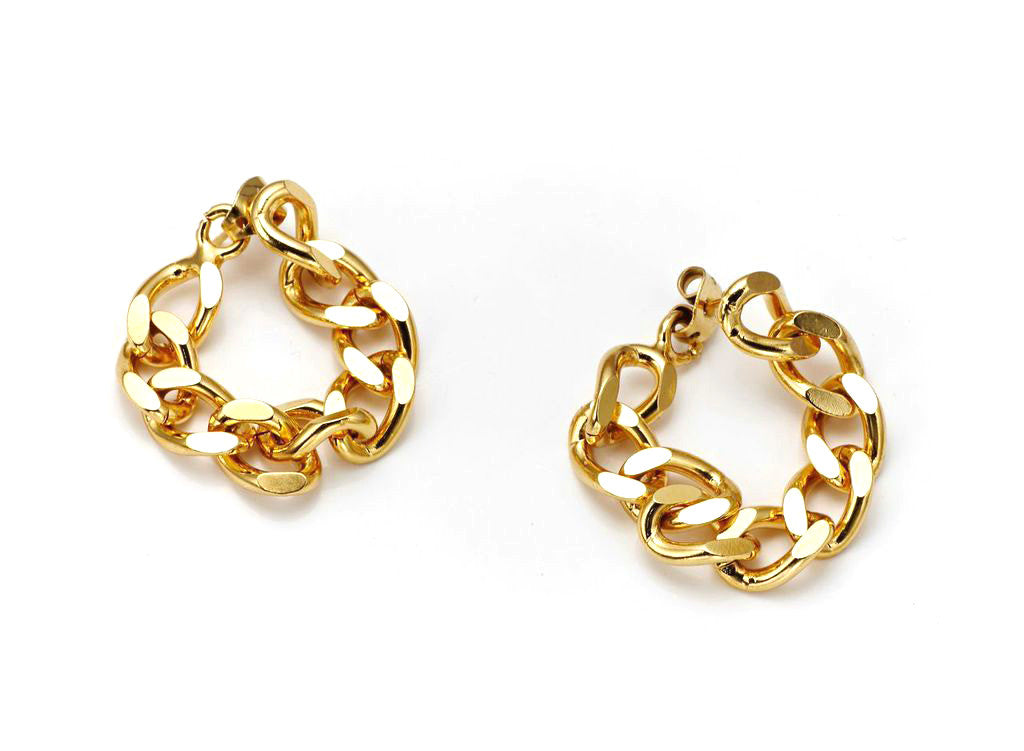 The Bali Girl Collection <br/> Indah Gold Earrings
