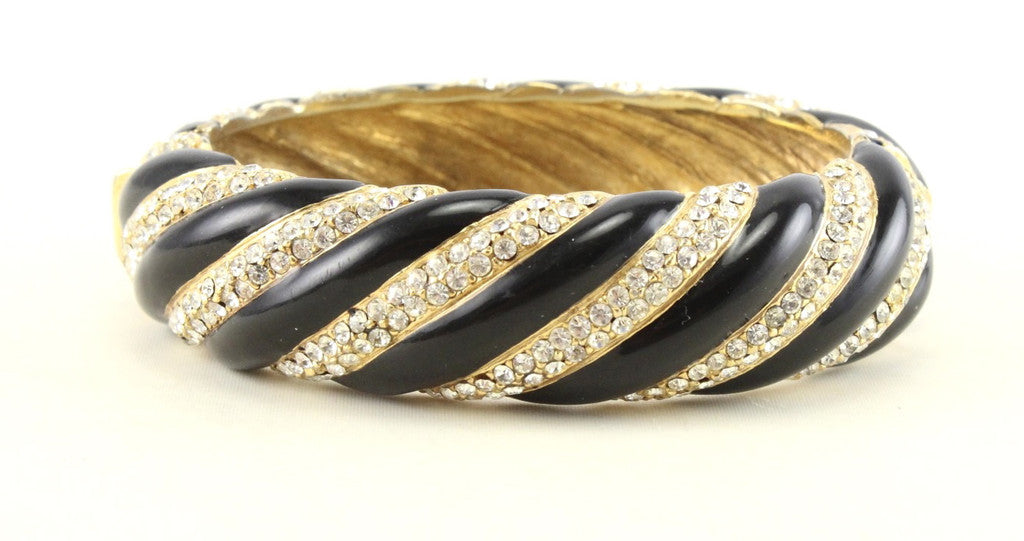 CINER GOLD AND BLACK BRACELET