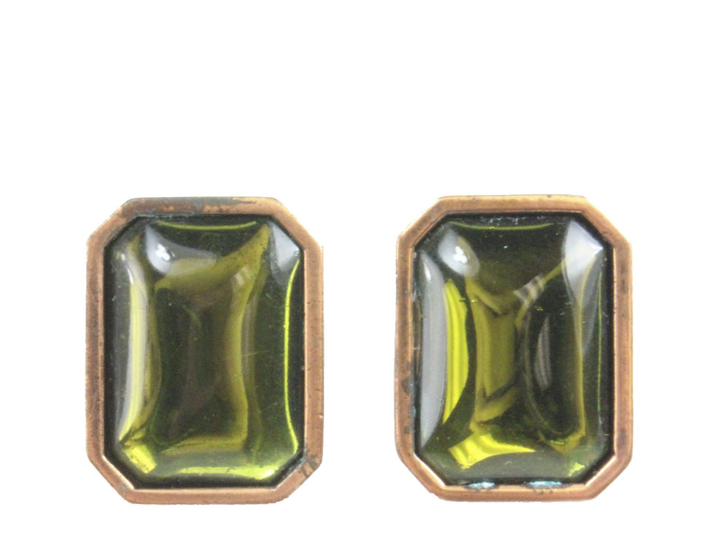 YVES SAINT LAURENT GRIPOIX EARRINGS