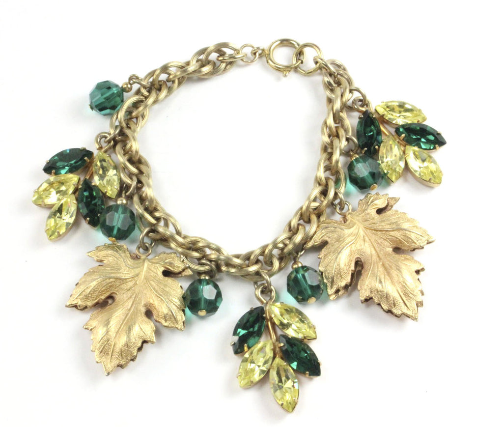 UNSIGNED LEAF BRACELET