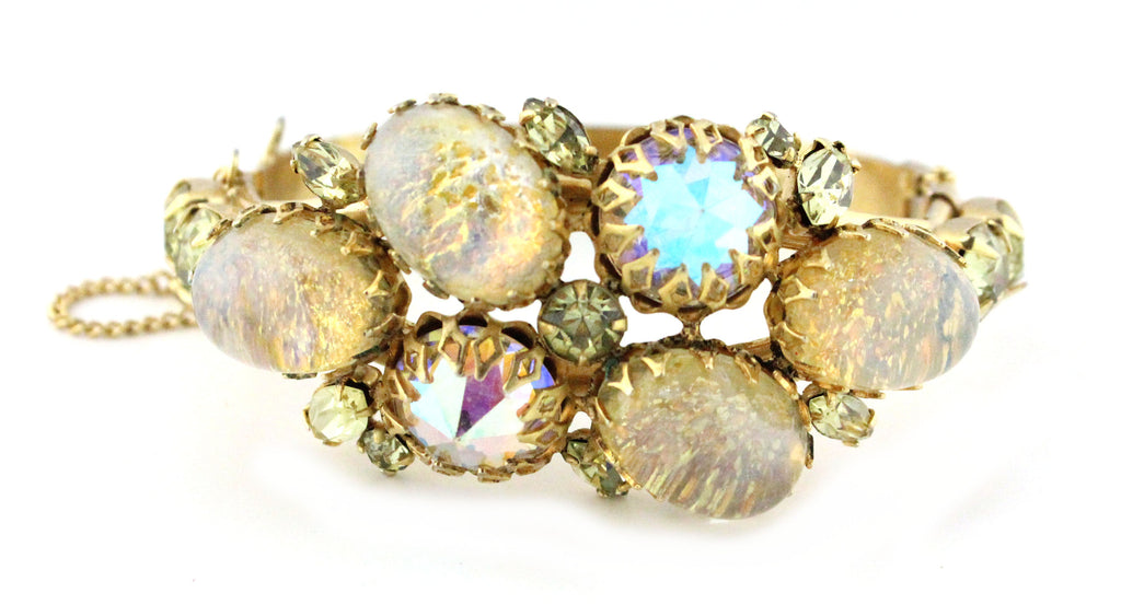 1950S ALICE CAVINESS YELLOW BRACELET