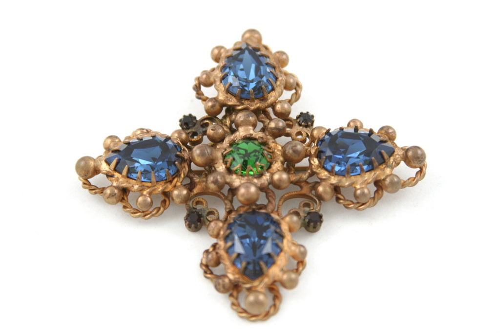 MARIE FERRA MALTESE CROSS PIN