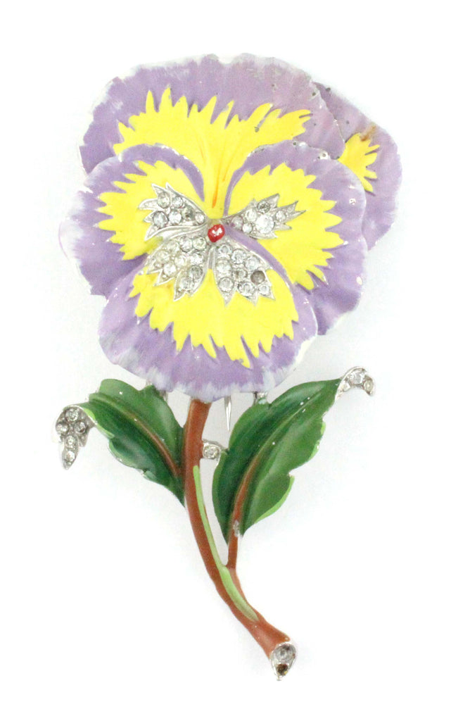 TRIFARI FLORAL PIN