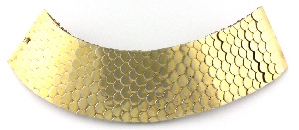 1970'S UNSIGNED GOLD BRACELET