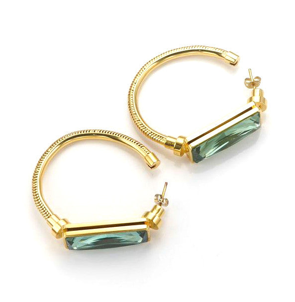 The Bali Girl Collection <br/> Kemala Large Hoops