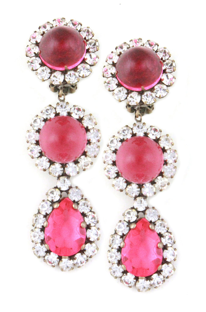 KJL PINK EARRINGS