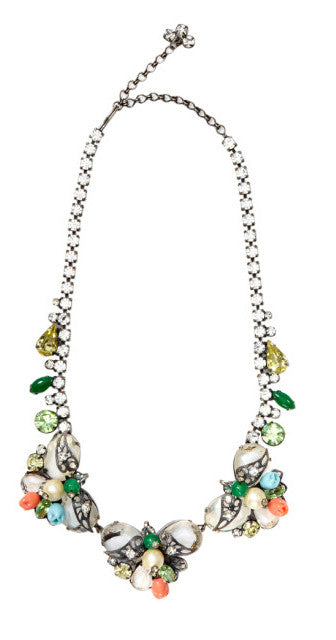 Alice Caviness Floral Necklace