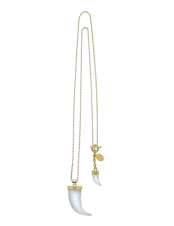 THE ORIENT EXPRESS COLLECTION<br/> PEARL OF SIBERIA DOUBLE TOOTH NECKLACE