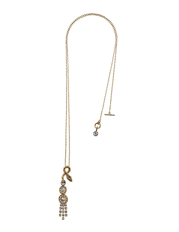 THE ORIENT EXPRESS COLLECTION<br/>SERPENT SNAKE NECKLACE