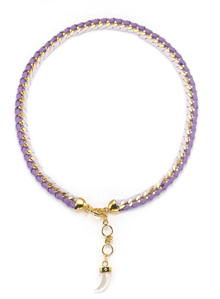 The Bali Girl Collection <br/> Indah Purple Necklace