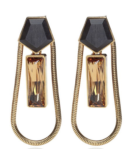 THE ANNÉES FOLLES COLLECTION <br/> ZELDA LONG EARRINGS