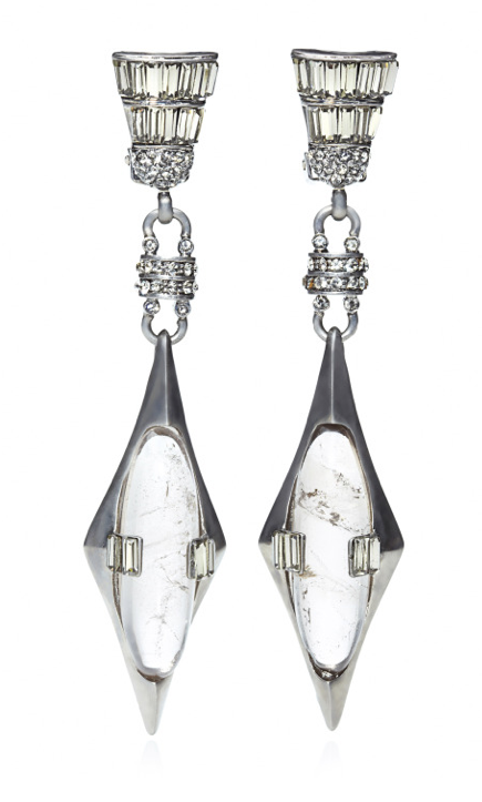 THE ANNÉES FOLLES COLLECTION <br/> JOSEPHINE SMOKY QUARTZ EARRINGS