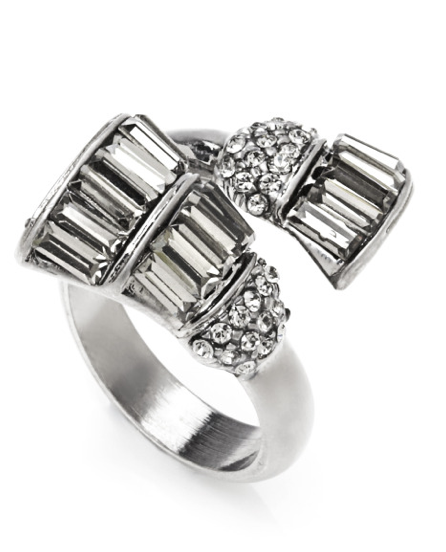 THE ANNÉES FOLLES COLLECTION <br/> JOSEPHINE CROSSOVER RING