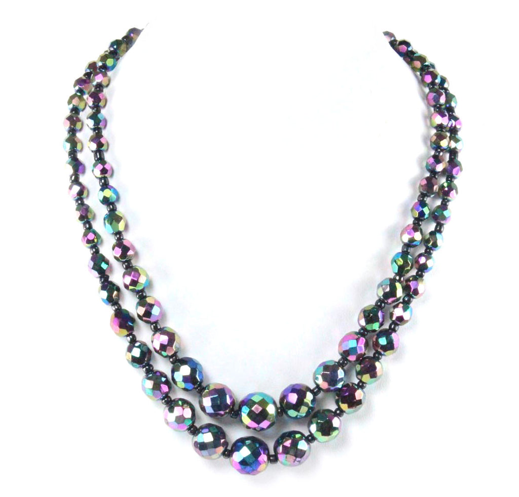 1950'S VENDOME AURORA BOREALIS NECKLACE