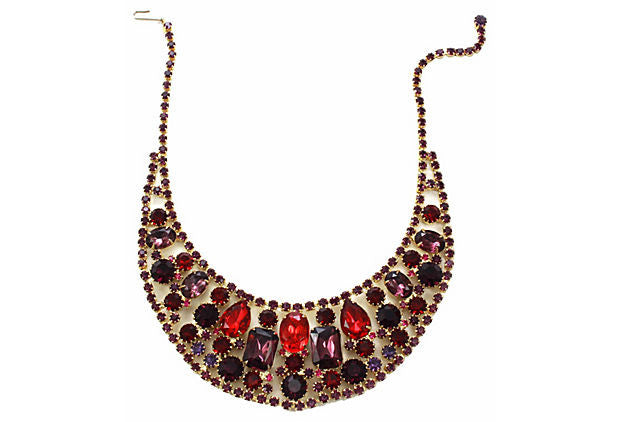 1950's Juliana Bib Necklace