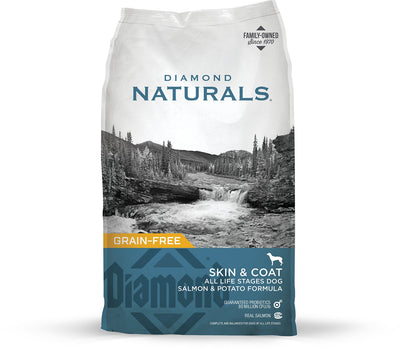 DIAMOND NATURALS SKIN & COAT ALL LIFE STAGES DOG SALMON & POTATO 40LBS