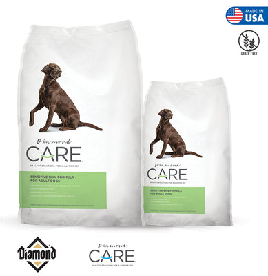 DIAMOND CARE SENSITIVE SKIN FORMULA FOR ADULT DOGS (25 & 8 lbs bags)