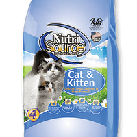 Nutrisource Cat & Kitten Chicken Meal, Salmon & Liver 6.6lb