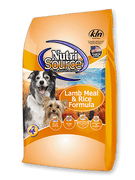 Nutrisource Lamb Meal & Rice Formula 30LBS